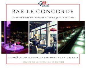 bar le concorde & a2 conseil event