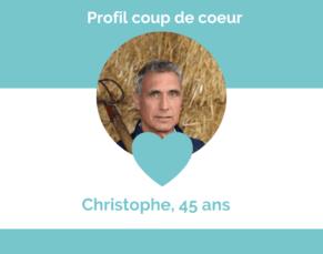 Découvrez Christophe !