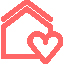 Logo maison rose A2 Conseil Metz