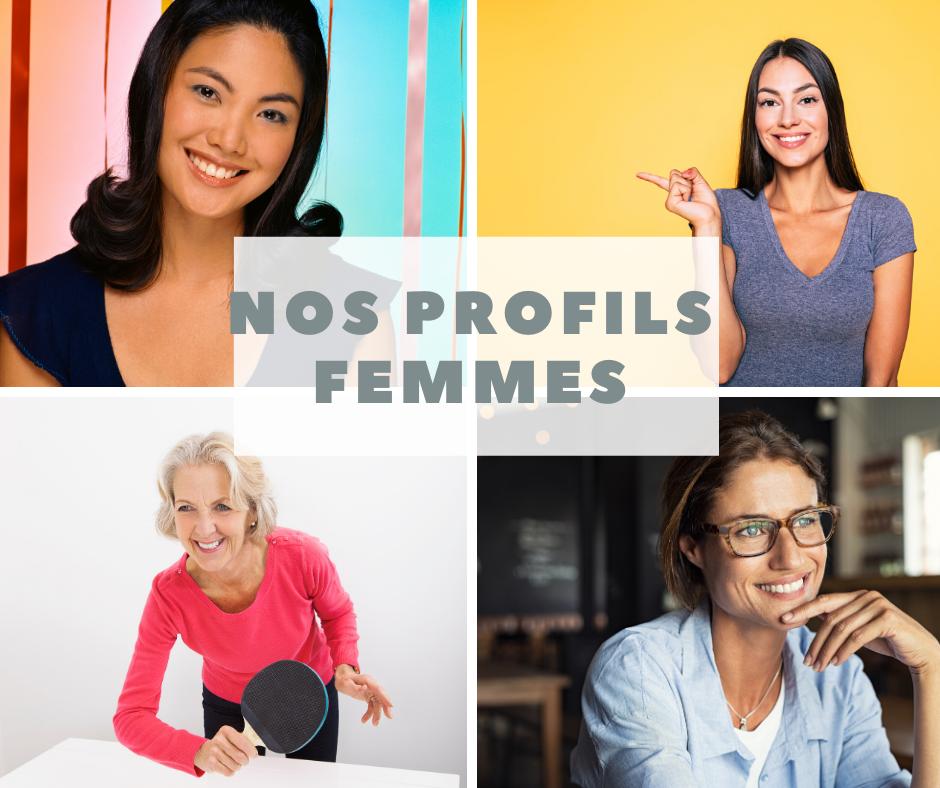 Célibataires en recherche d'amour - profils femmes - agence matrimoniale A2 Conseil - Metz