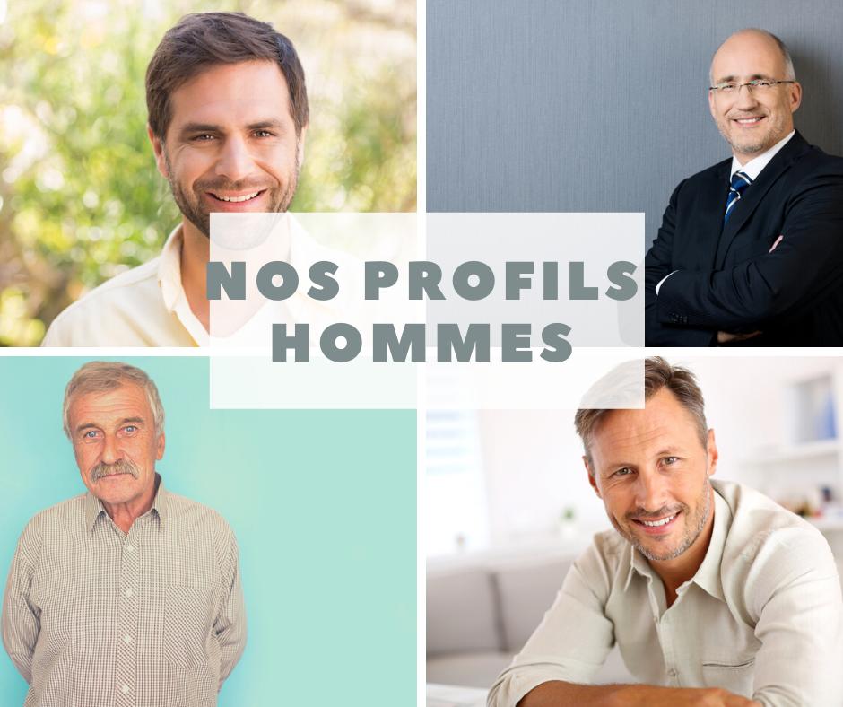 Célibataires en recherche d'amour - profils hommes A2 Conseil agence matrimoniale Metz
