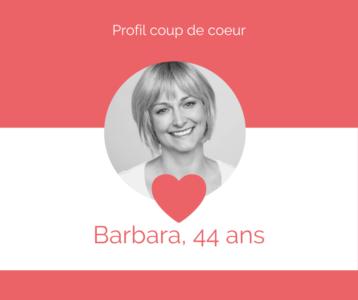 Profil Barbara- A2Conseil rencontres Metz