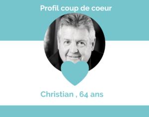 Profil coup de coeur Christian